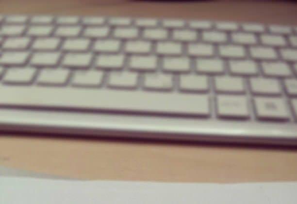 Tastatur für Schreibwerkt bei Journalismus und PR