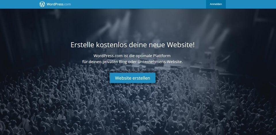 WordPress - Blog oder Webseite