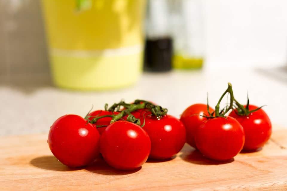 Tomaten sind vegan und lecker.
