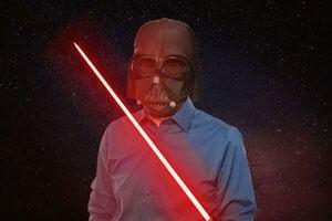 White Hat Jedi, Darth-Julian von Contunda beim Cinestock-SEO-Wettbewerb